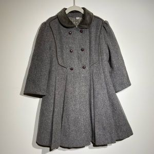 Rothschild Made in the USA Gray Peacoat Outerwear